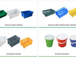 Plastic Tubs and Trays